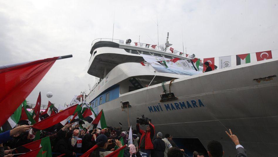 """Hilfsschiff """"Mavi Marmara"""": Türkei und Israel streiten um blutigen Militäreinsatz"""