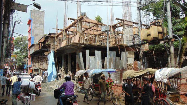 Kathmandu: Im Tempelbezirk