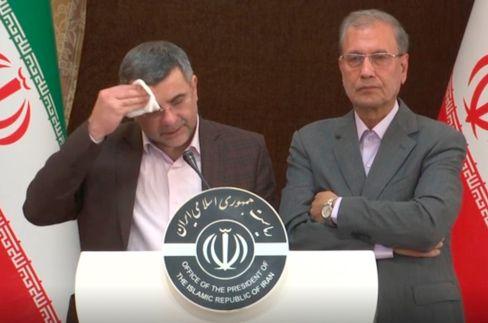 Vizegesundheitsminister Iradsch Harirschi wurde kurz nach einer Pressekonferenz selbst positiv auf das Coronavirus getestet