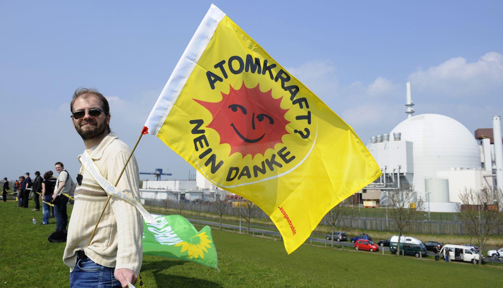 AKW Brokdorf / Atomkraft nein danke