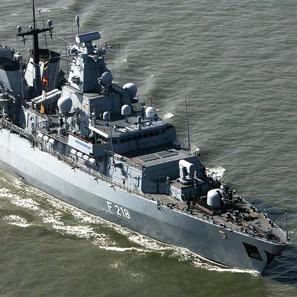 """Deutsche Fregatte vor Libanons Küste: """"Alles klar zum Gefecht"""""""
