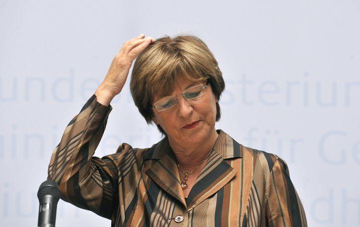 Ministerin Schmidt: Kritik vom Koalitionspartner