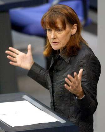 Durchbruch für Elite-Unis: Edelgard Bulmahn
