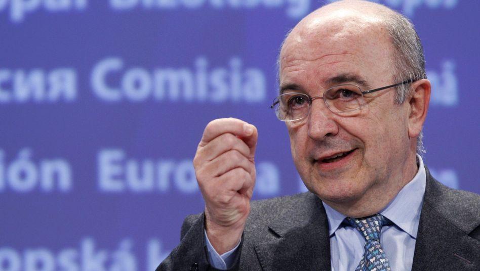 EU-Währungskommissar Almunia: Sanierungsprogramm für den Defizitsünder