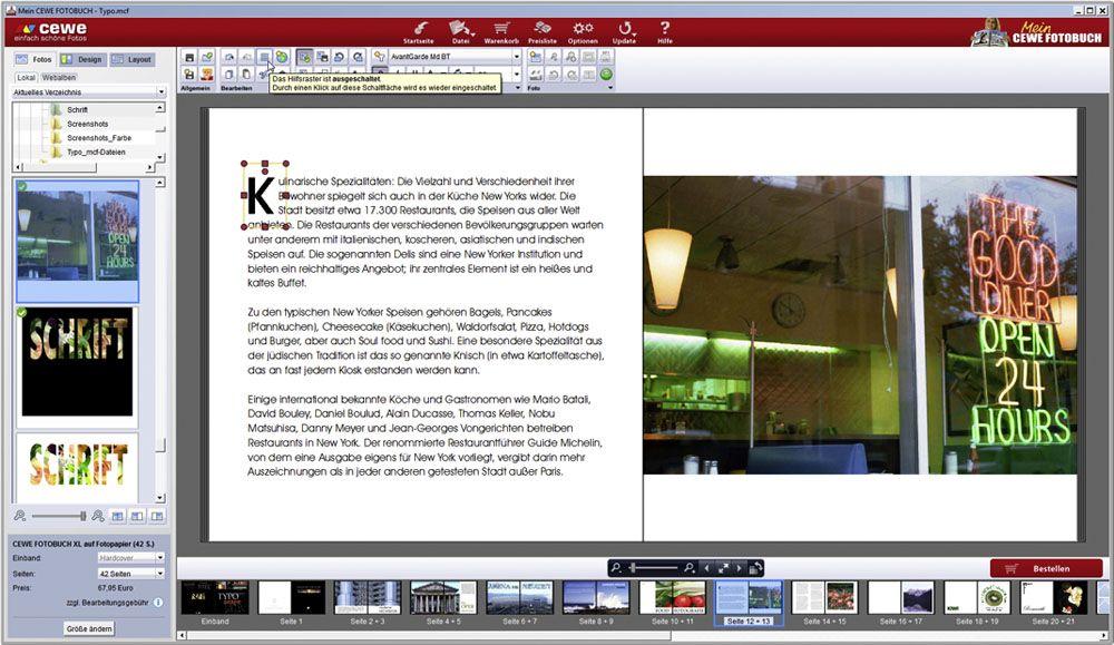 Docma 37 Fotobuch Schrift / Koop #9