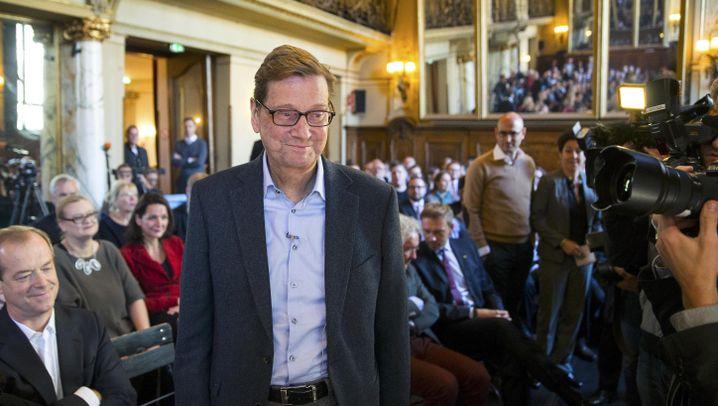 Ex-Außenminister: Westerwelle zurück im Rampenlicht