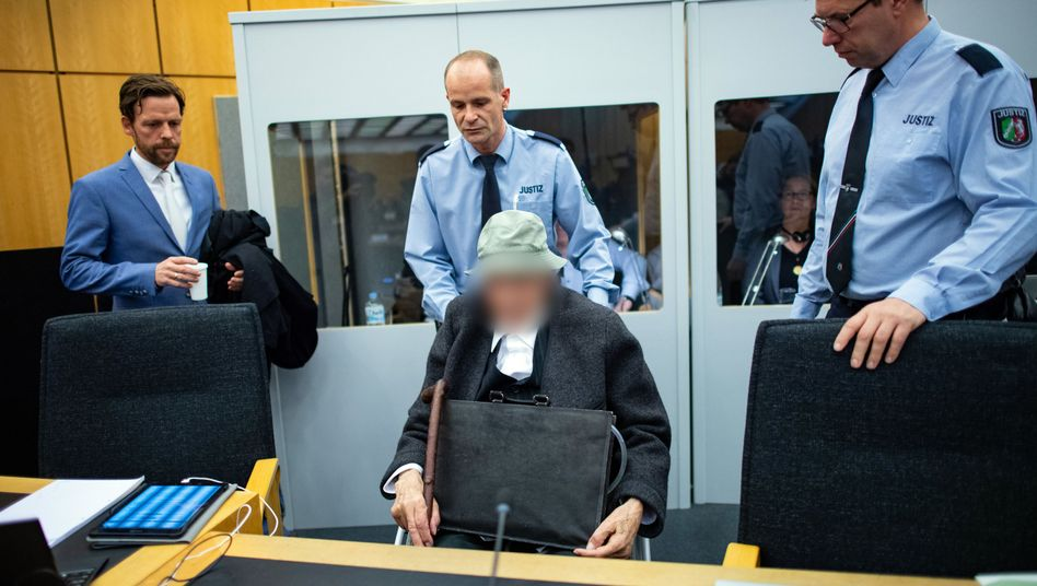 Angeklagter im Landgericht Münster