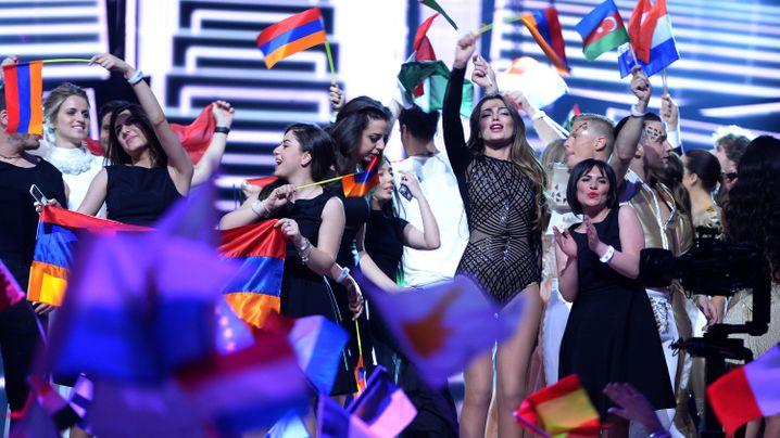 Eurovision Song Contest: Die Gewinner des 1. Halbfinales