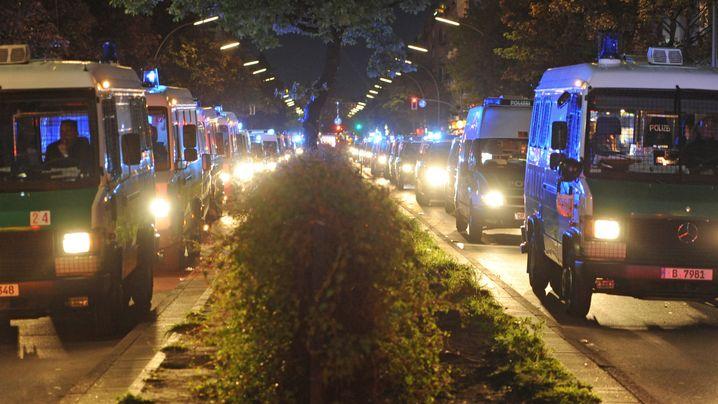1. Mai in Berlin: Berlins Polizei atmet auf