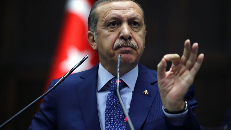 Türkischer Premier Erdogan: Harte Vorschriften für Journalisten