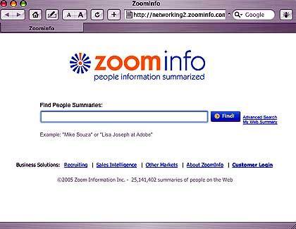 ZoomInfo: Kritik von Datenschützern