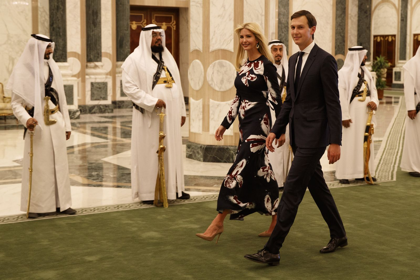 Trump / Saudi-Arabien/ Ivanka