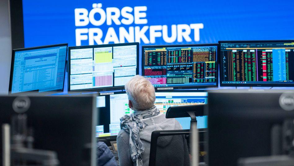 Die Börse in Frankfurt (Archivbild)