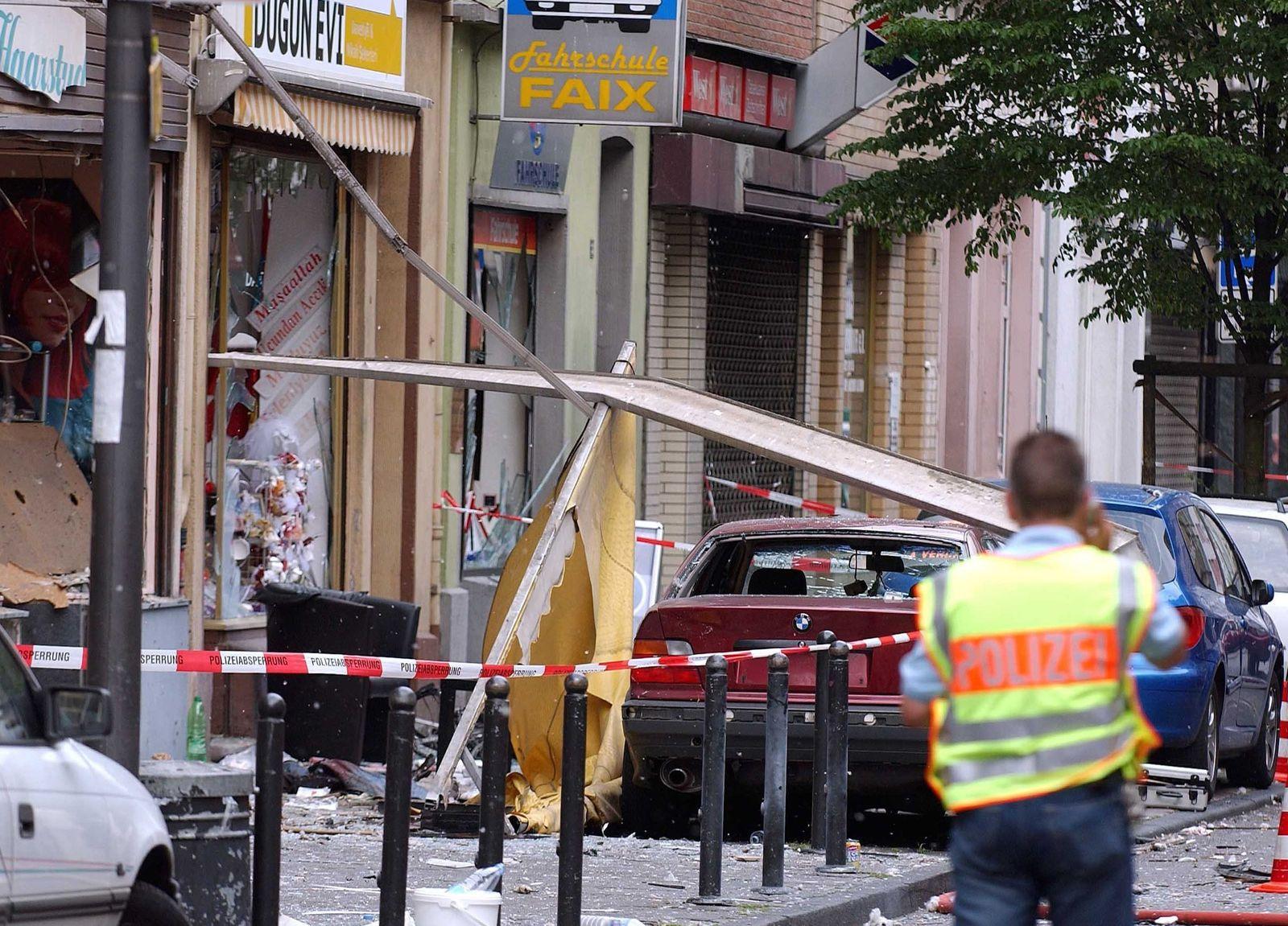NSU-Prozess- Bombenanschlag in der Keupstraße