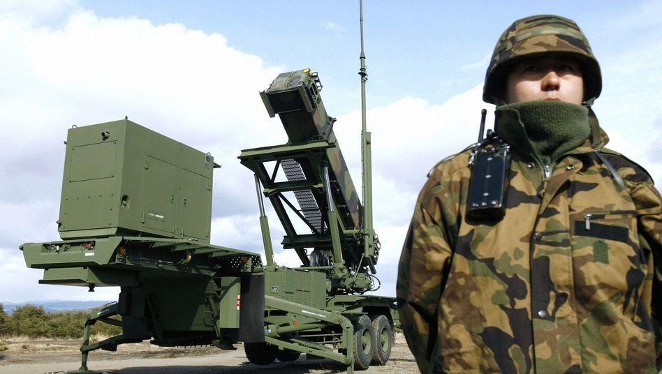 Abwehrsystem mit Patriot-Rakete (in Japan): Altlast des einst geplanten Raketenschilds