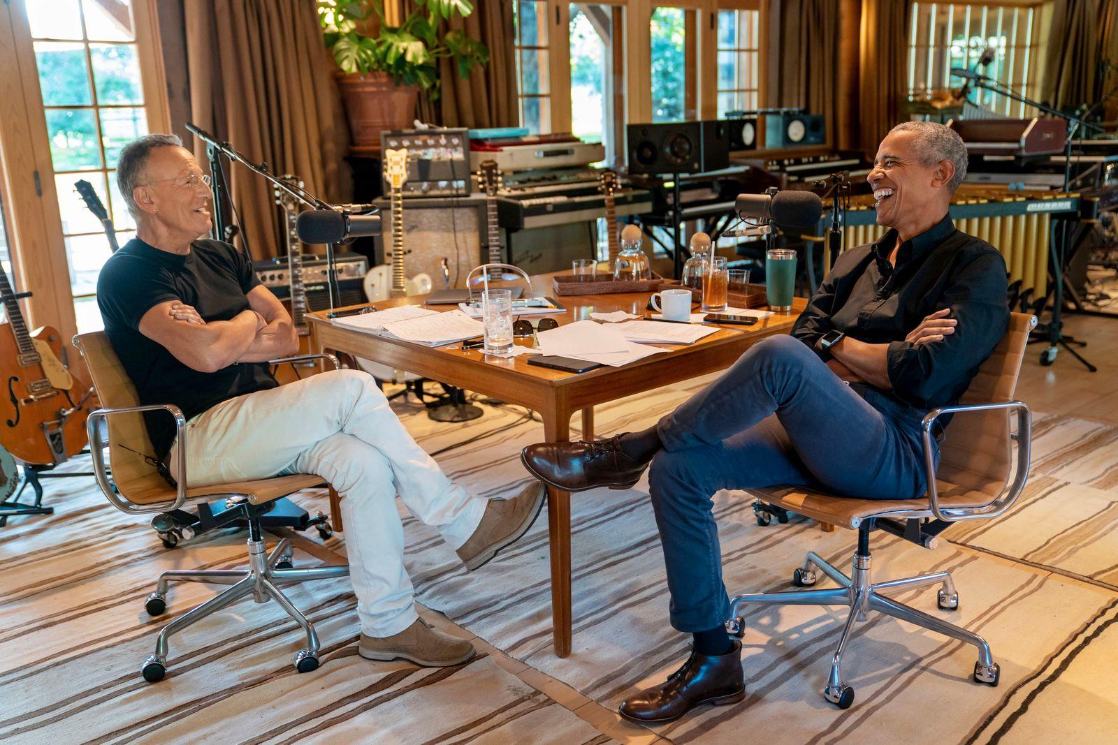 Spotify-Obama & Springsteen