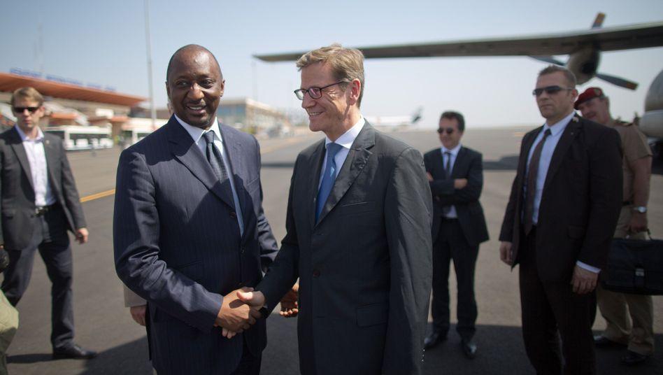 """Westerwelle in Mali: """"Große Bedeutung für die Sicherheit Europas"""""""