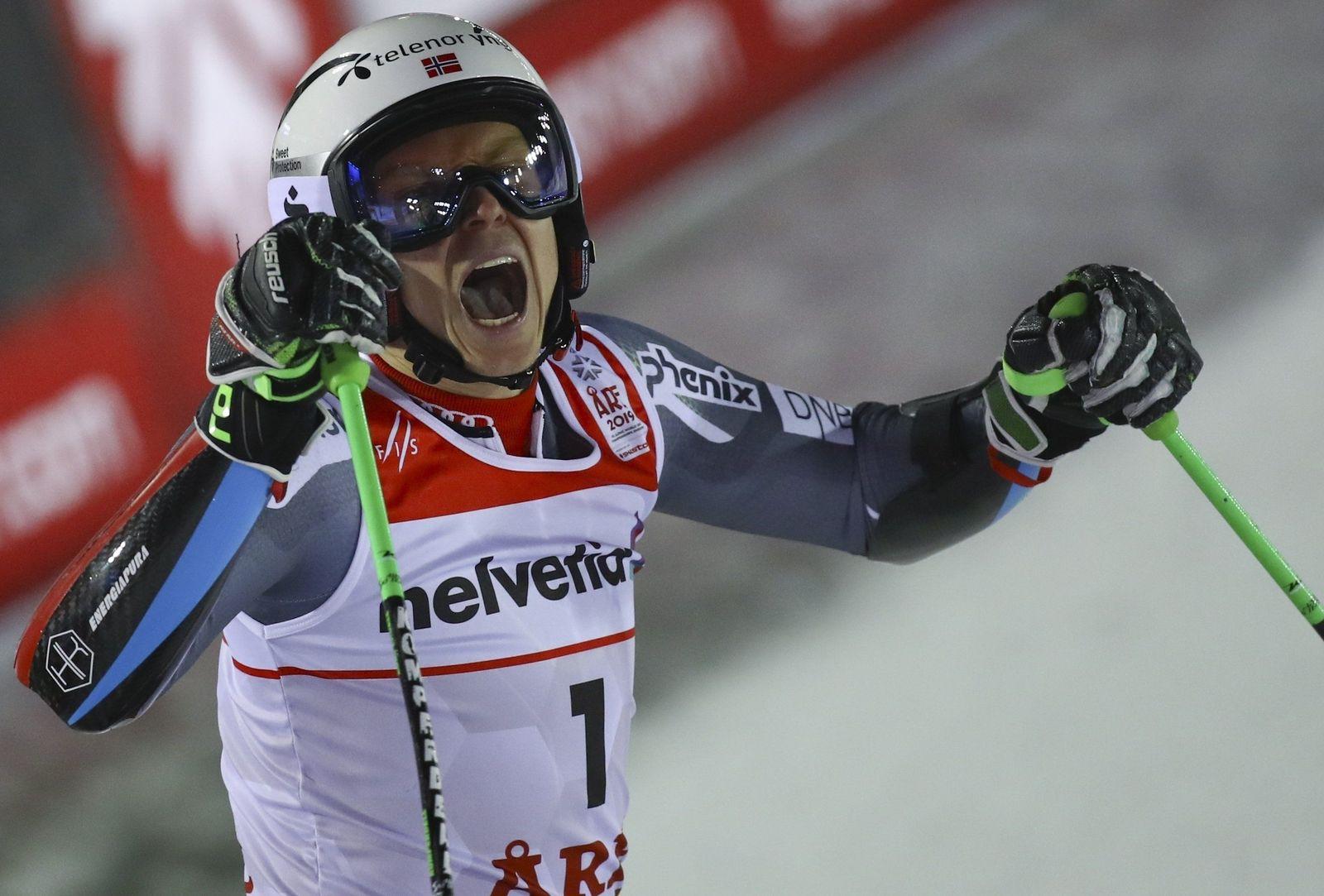 Ski alpin Henrik Kristoffersen