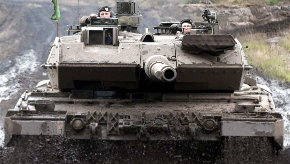 The plan to sell Leopard tanks to Saudi Arabia reveals a focus for German arms trading.