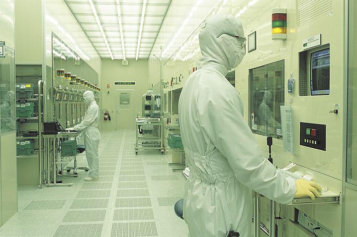 Fabrik von Samsung Electronics