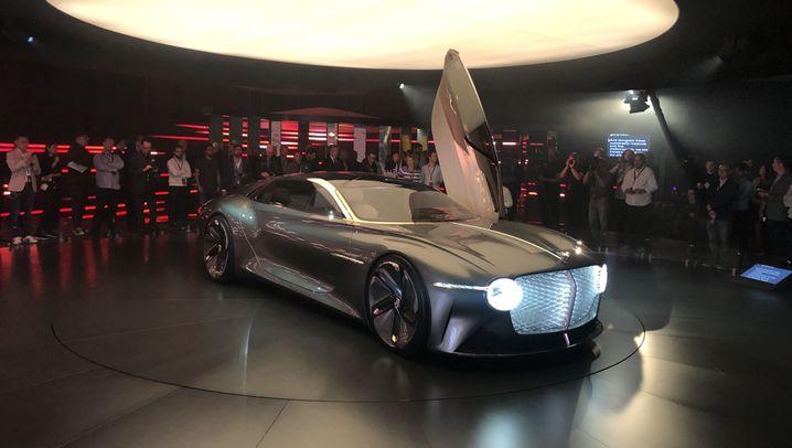 Elektro-Superauto EXP 100GT: Breit, breiter, Bentley