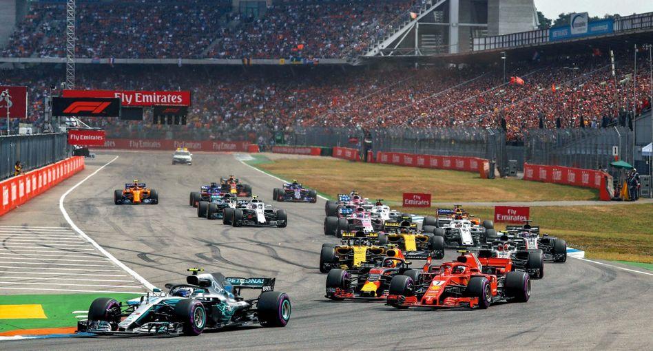 Grand-Prix-Rennen auf dem Hockenheimring im Juli 2018: »Werden dieses Risiko nicht mehr eingehen«