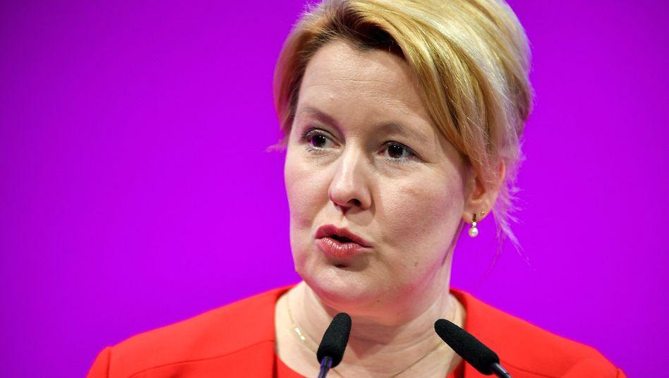 Familienministerin Giffey: Wird sie neue Regierende Bürgermeisterin?