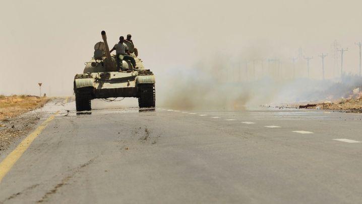 Rebellen in Libyen: Waffen im Wüstenstaat