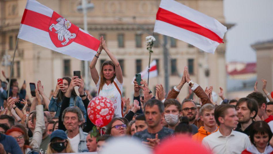Proteste am Samstag in Minsk
