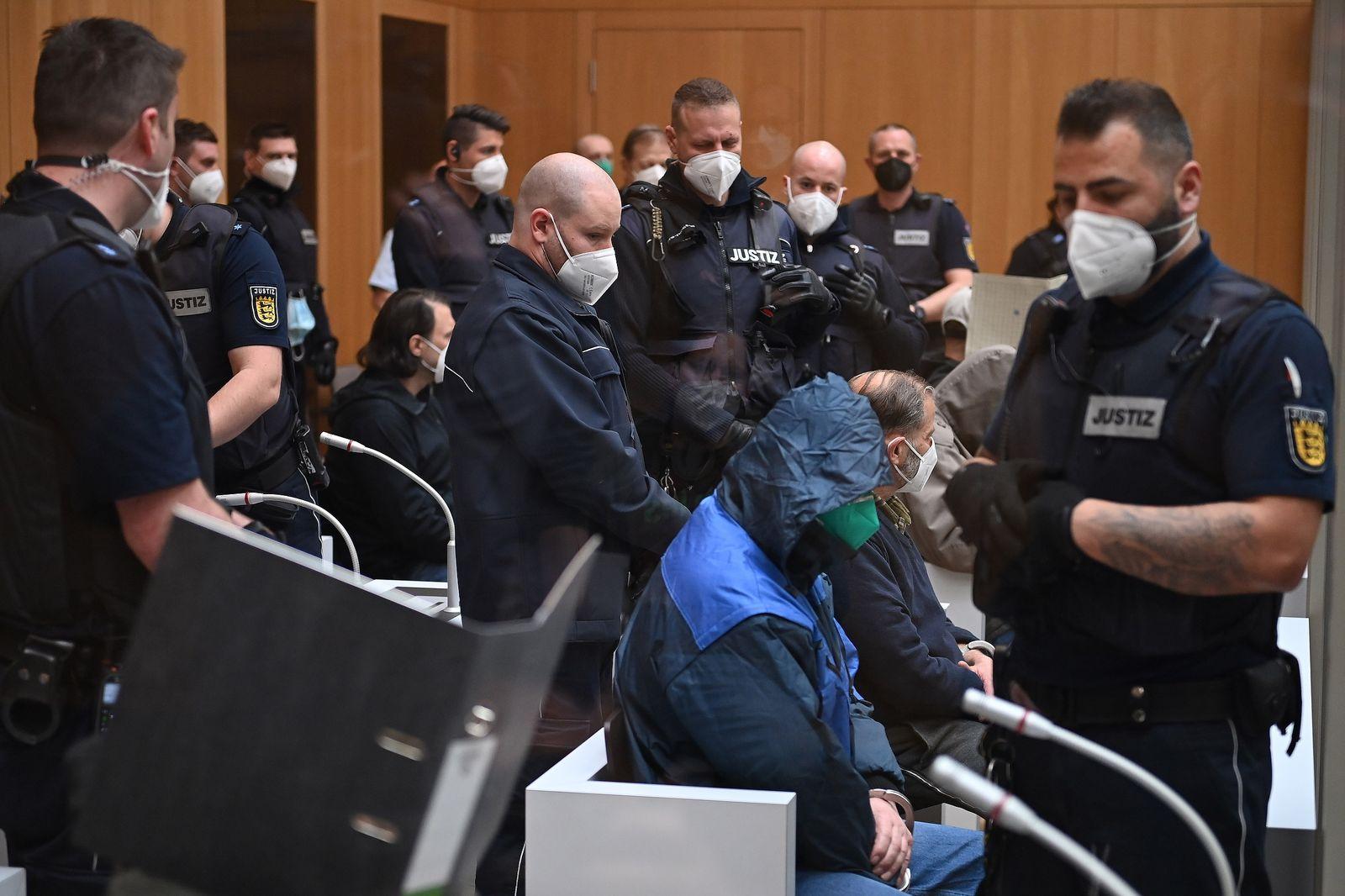 Trial against right-wing terror cell Gruppe S begins in Stuttgart