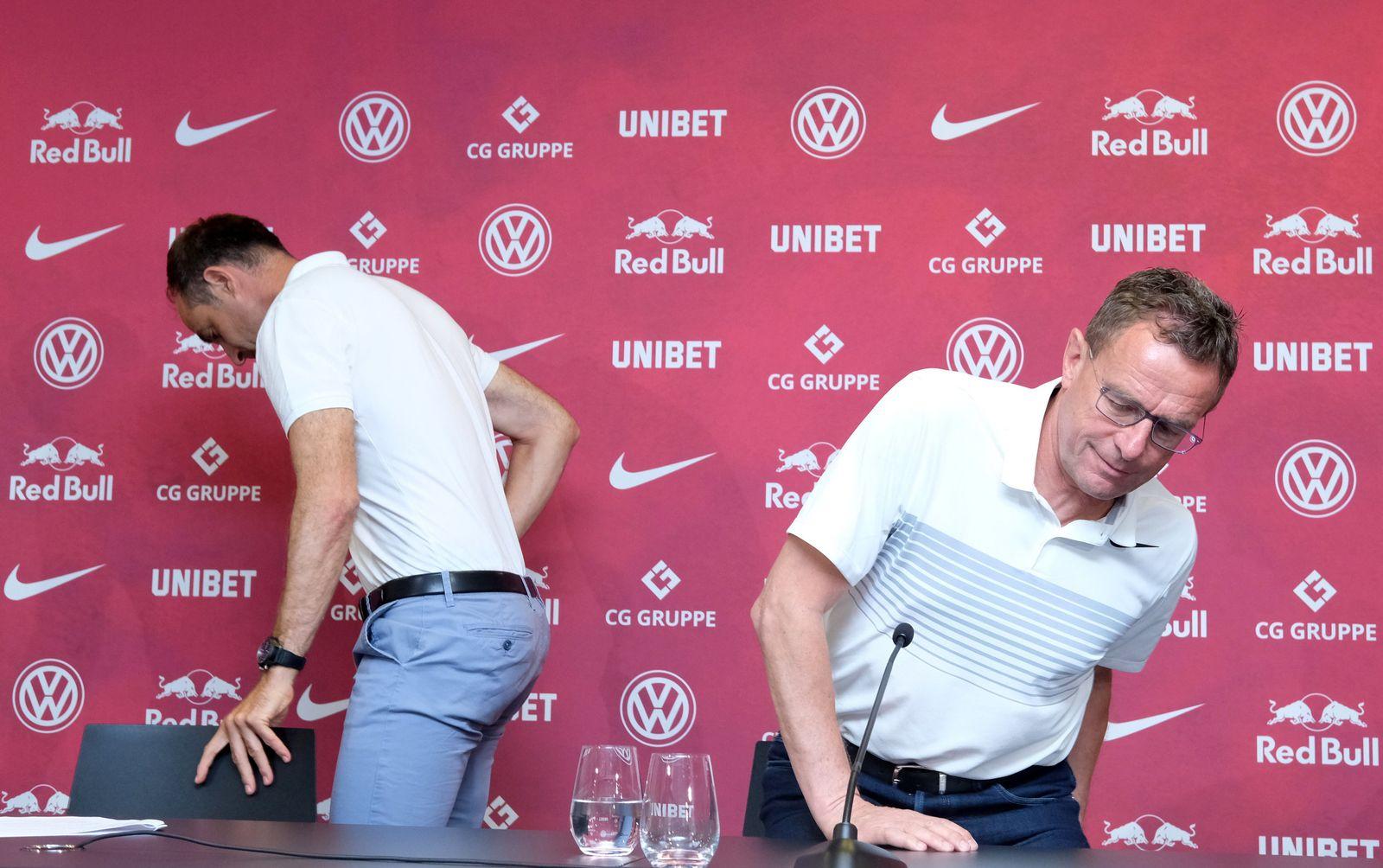 Pressekonferenz RB Leipzig