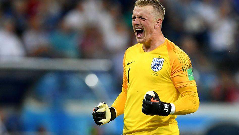 Englands Torwart-Hoffnung Jordan Pickford