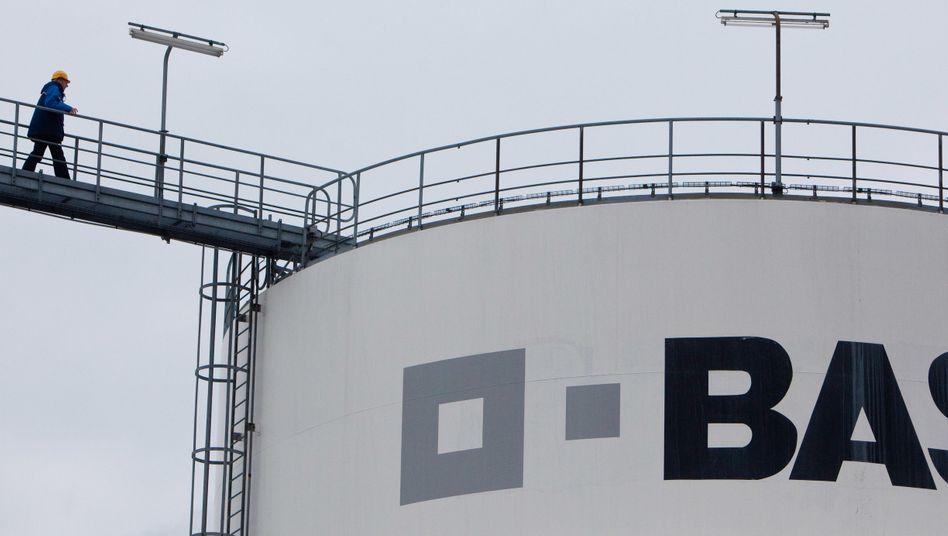 BASF-Tanklager in Schwarzheide: Der Chemiekonzern will hier weiter investieren