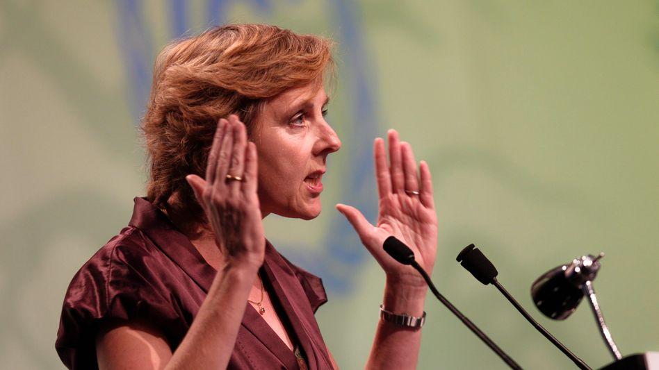 """Klimakommissarin Hedegaard: """"2017 ist zu spät"""""""