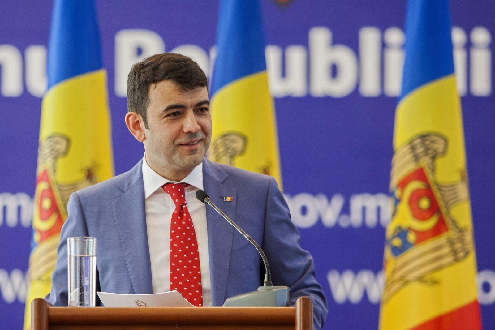 The Prime Minister of Moldova Chiril Gaburici announced his resig