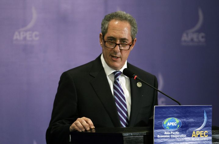 """US Trade Representative Michael Froman: """"We are very much committed to TTIP."""""""