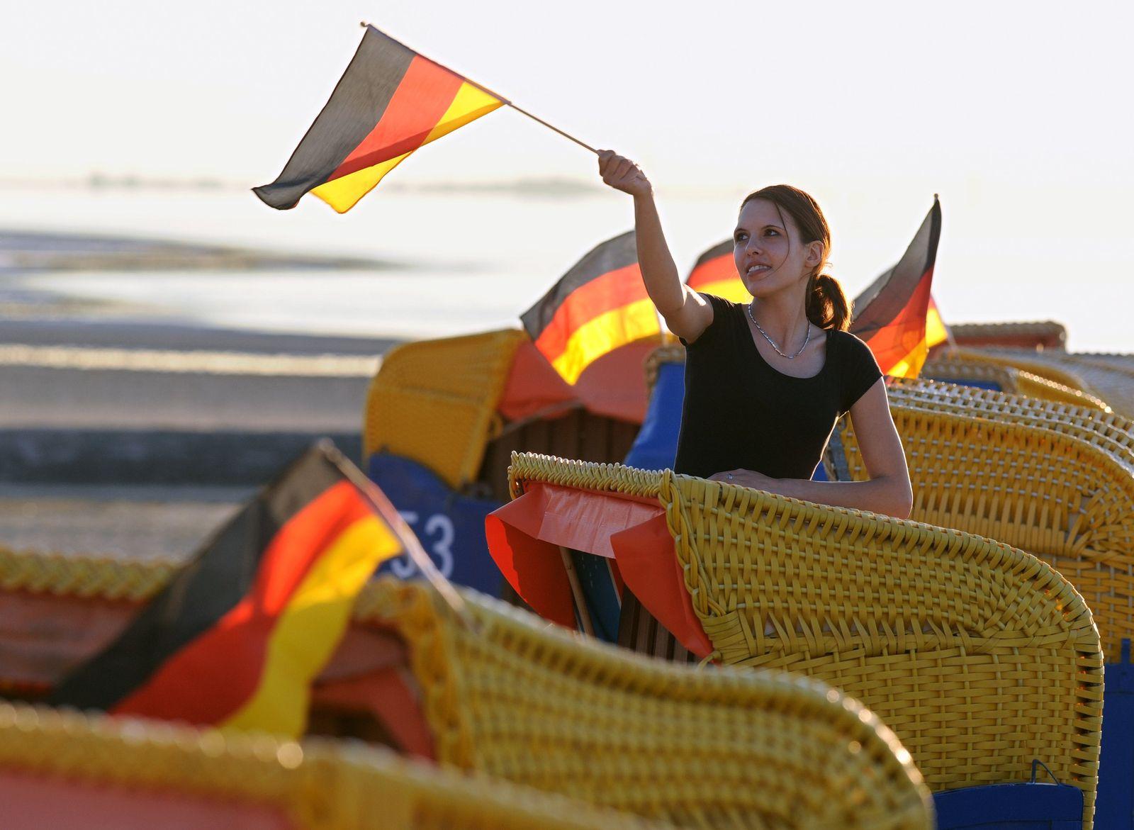 WM 2010 / Deutschland in Schwarz Rot Gold