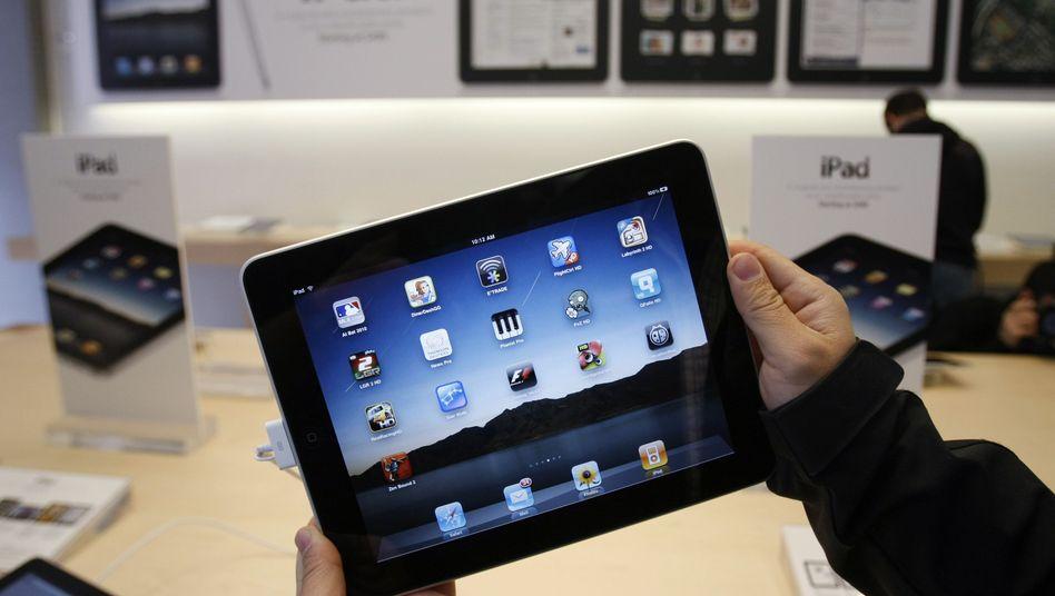 Modeartikel iPad: Nachfrage höher als das Angebot
