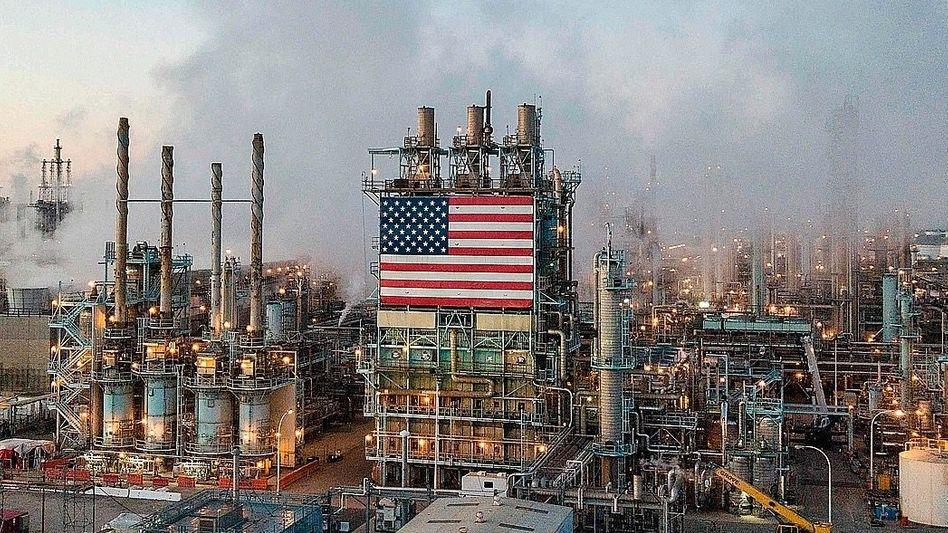 Ölraffinerie in Kalifornien