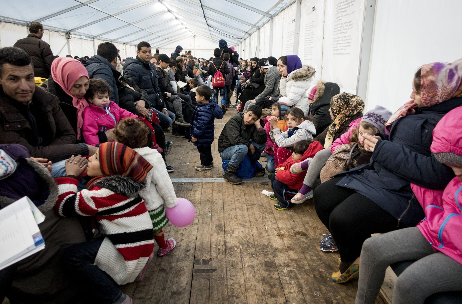 Situation am LaGeSo Flüchtlinge