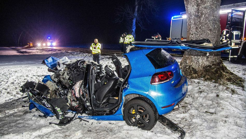 Tödlicher Verkehrsunfall (Archivbild)