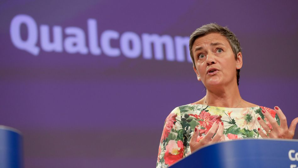 Wettbewerbskommissarin in Aktion: Margrethe Vestager spricht über die Qualcomm-Strafe