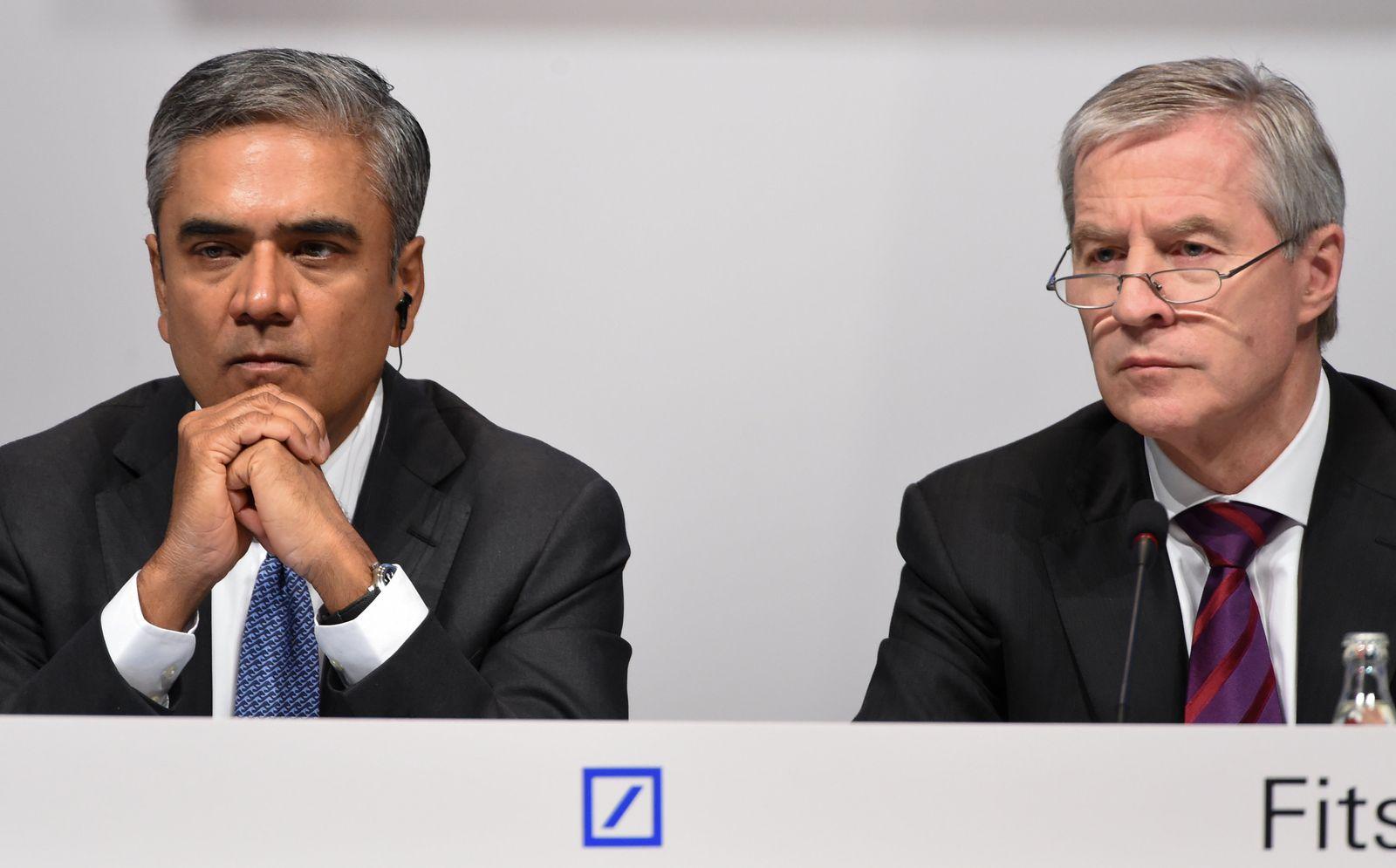 Anshu Jain/ Jürgen Fitschen