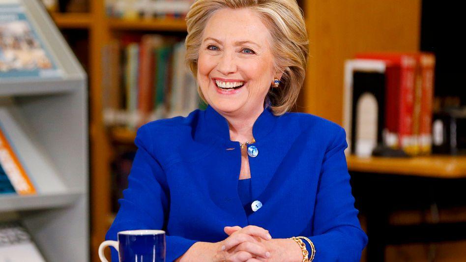 Demokratische Präsidentschaftsbewerberin Clinton: Reden als Geschäftsmodell