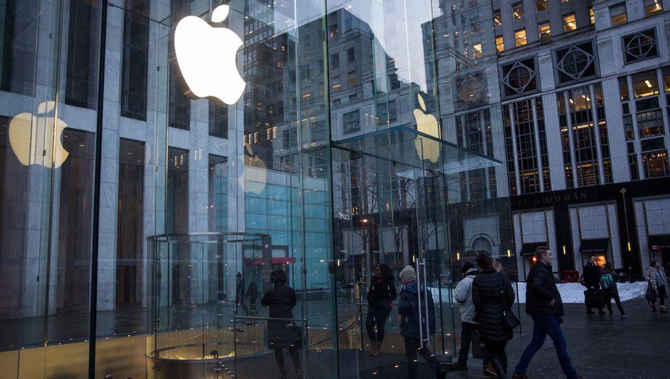 Apple-Geschäft in New York