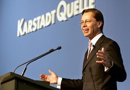 KarstadtQuelle-Chef Middelhoff: Hoffnung auf die Immobilienerlöse