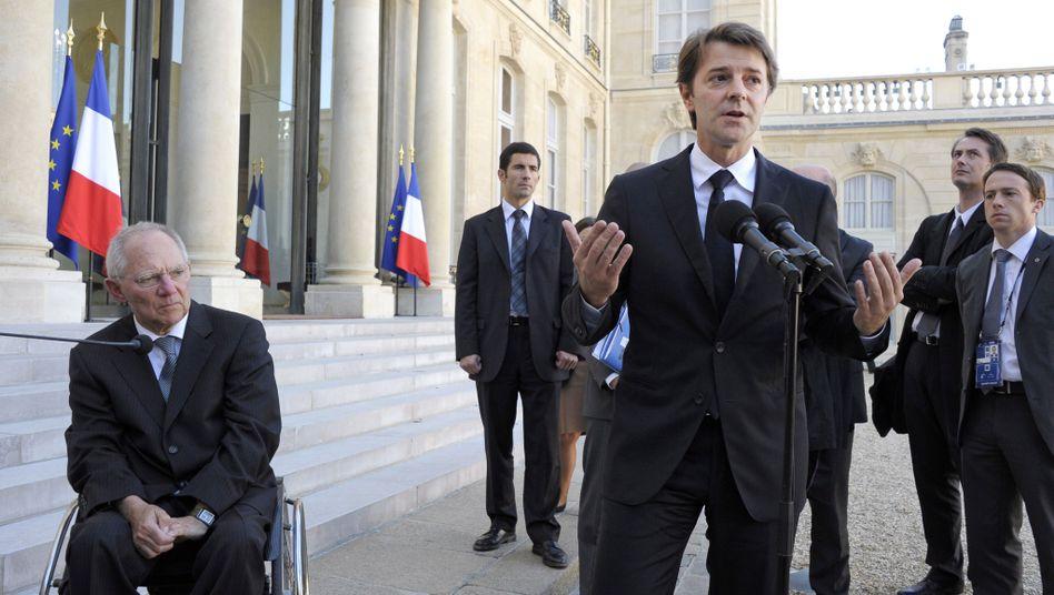 Französischer Finanzminister Baroin: Schutzschirm aufstocken