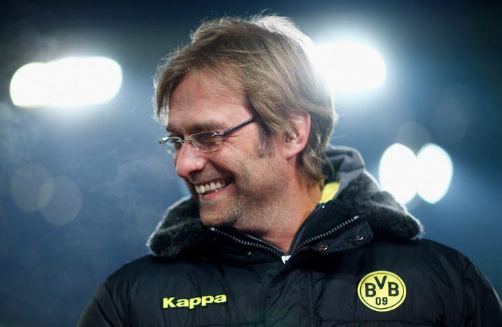 Klopp als Trainer von Borussia Dortmund