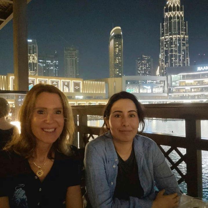 Freundinnen Sioned Taylor, Latifa bint Mohammed Al Maktoum in Dubai: Neue Wendung im Leben der Prinzessin?