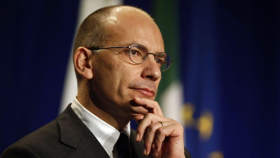 """Italiens Regierungschef Letta: """"Erholung in Europa sollte Priorität haben"""""""